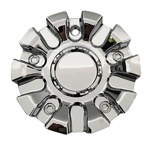 SQUARE Wheels C Square C2-A Chrome Wheel Center Cap C Square Wheels