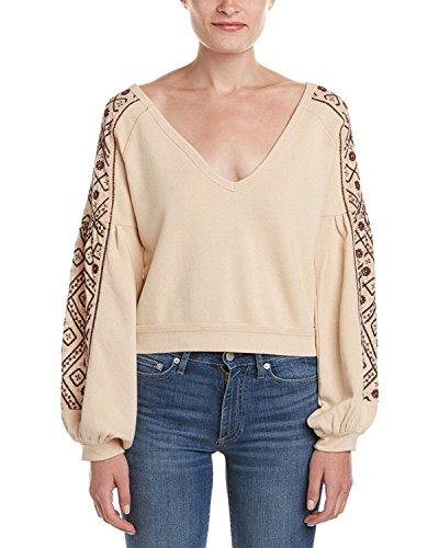 Women's Free People 'Senorita' Crop Pullover, L by Free People