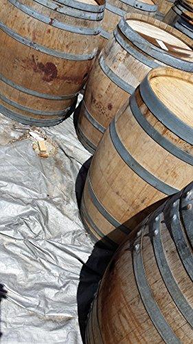 Authentic Used Wine Barrel - Burgundy-style