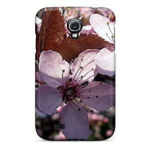 Durable Protector Case Cover With Pink Spring Flower Hot Design For Galaxy S4