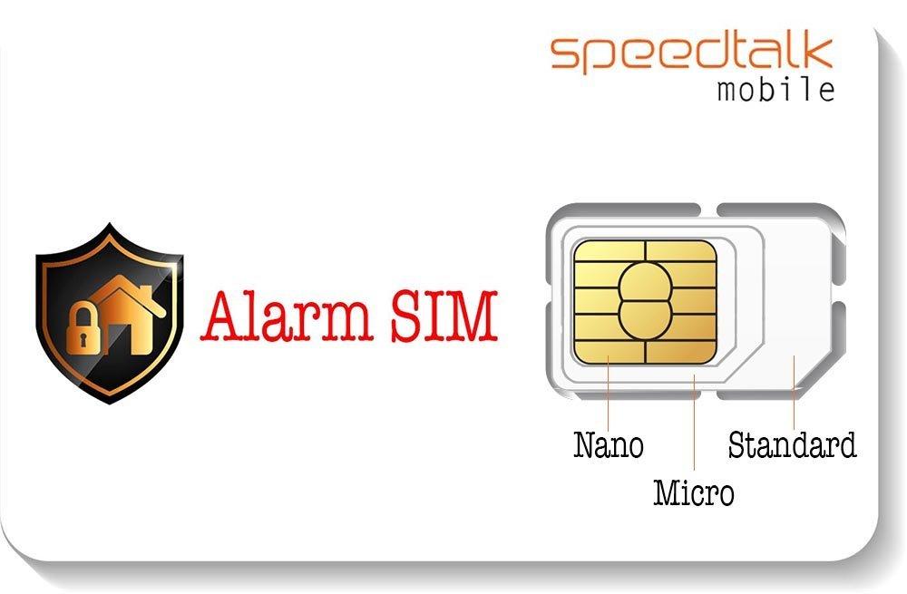 Amazon.com: Alarma tarjeta SIM para 2 G 3 G, 4 G, LTE GSM ...