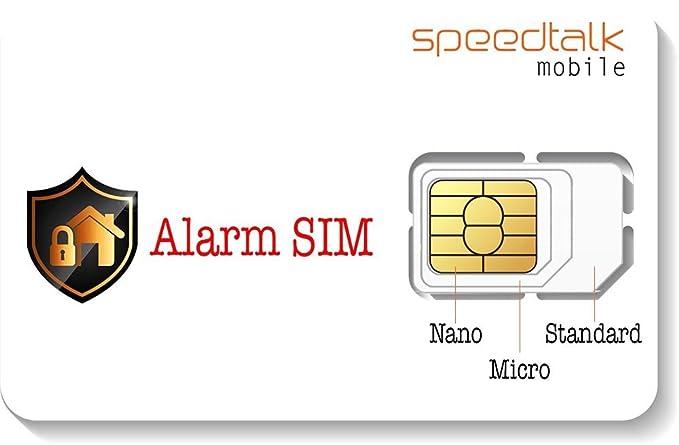 Tarjeta SIM de Alarma para Sistemas de Alarma de Seguridad ...