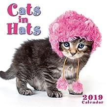 2019 Cats in Hats Mini Calendar: by Sellers Publishing, 7x7 (CS-0462)