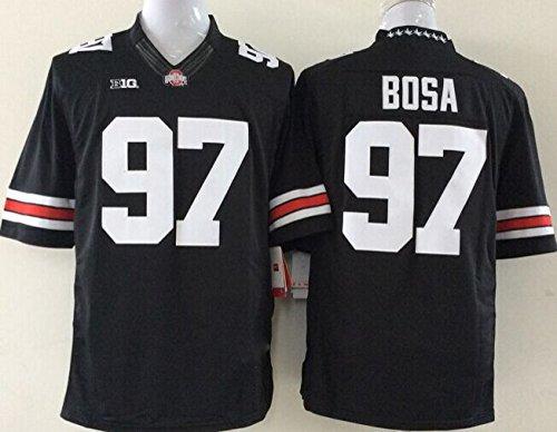 Men's NCAA Football Shirt Ohio State Buckeyes NO.97 Bosa NCAA Black Men's Ohio State Buckeyes Football Jersey