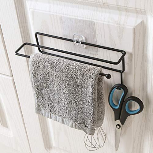 Alisy Bathroom Towel Holder, Corner Storage Holder Shelves Bathroom, Kitchen Tools Paper Wall Mount Hanging Hook