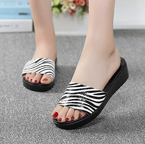 79a8b4a03112c Amazon.com: DingXiong Women Sandals 2018 Genuine Leather Open Toe ...