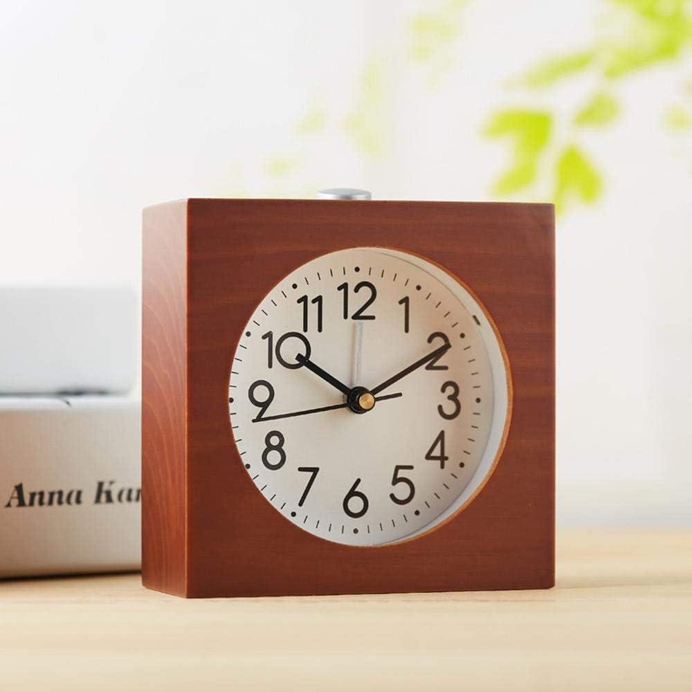 WOVELOT Petit R/éVeil pour la Chambre /à Coucher Horloge Digitale Horloge de Bureau LCD R/éVeil Enfant Fonctionnant sur Batterie M/éT/éO//Temp/éRature//Humidit/é Lit R/éVeil R/éVeil de Voyage Mural