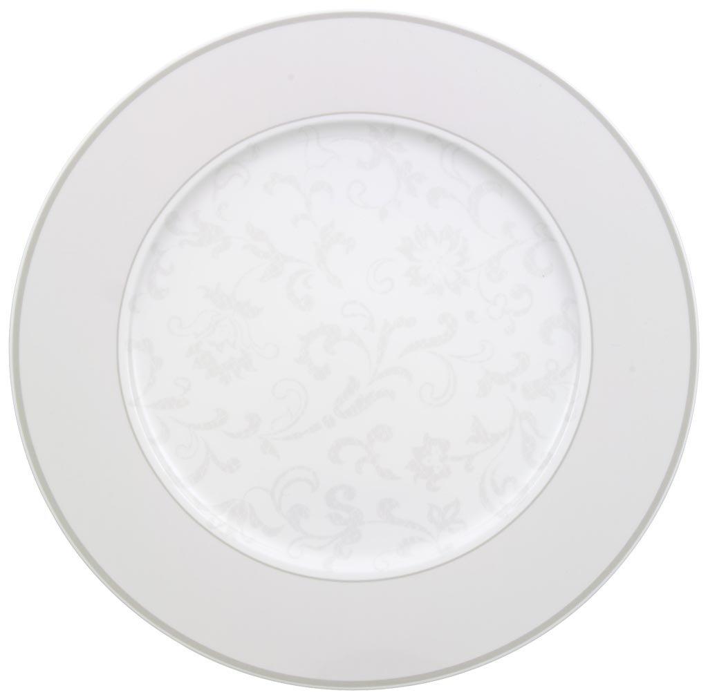 Villeroy & Boch Gray Pearl Piatto Pane, 18 cm, Porcellana Bone China,, 18x18x8 cm 1043922660