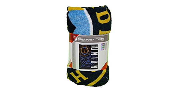 50inx60in skyline Series Northwest Philadelphia Union Mls Light Weight Fleece Blanket