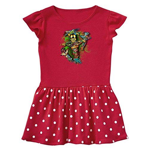 inktastic Voodoo Dolls Infant Dress 24 Months Red and Polka Dot 3442