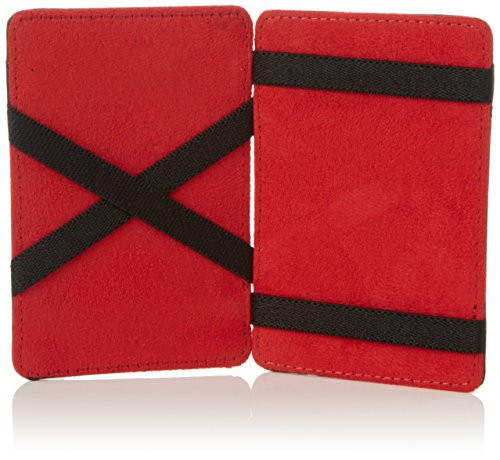 Troika Troika Wallet by Wallet Troika Magic Black Red by Magic Wallet Red by Magic Black Black nF01qOx1pw
