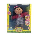 Cabbage Patch Kids Trendy Girl Doll 14 Caucasian Black Hair with Adoptimal Key by Cabbage Patch Kids