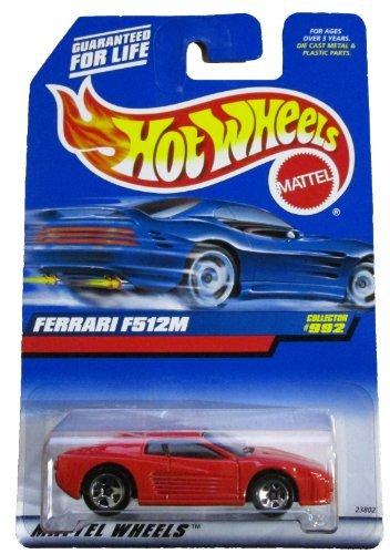 #992 Ferrari F512M Collectible Collector Car Mattel Hot Wheels 1:64 Scale Collectible Die Cast Car