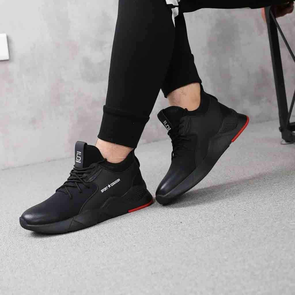 Pandaie-Mens Shoes Men Fashion Lightning Running Shoes Outdoor Leisure Shoes Breathable Sports Shoe