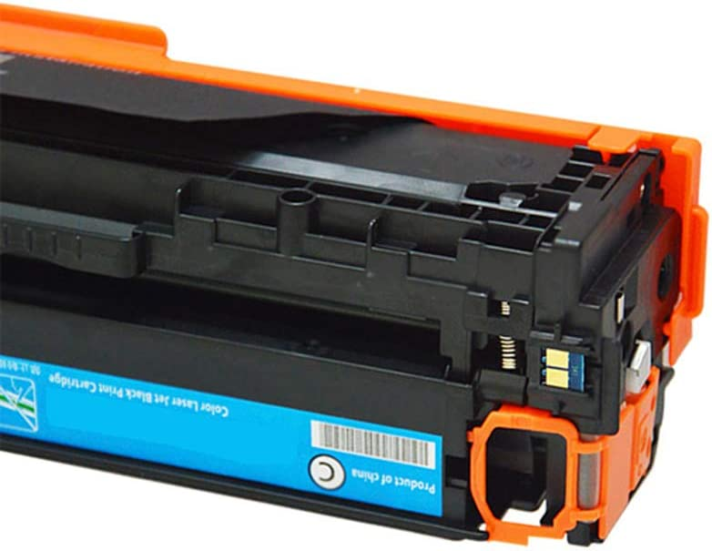 Remanufactured Toner Cartridge Replacement for Hp 125a Cb540a Toner Cartridge for Use with Hp Color Laserjet Cm1312 Cm1312nfi Cp1215 Cp1215n Cp1515 MFP Laser Printer-Combination