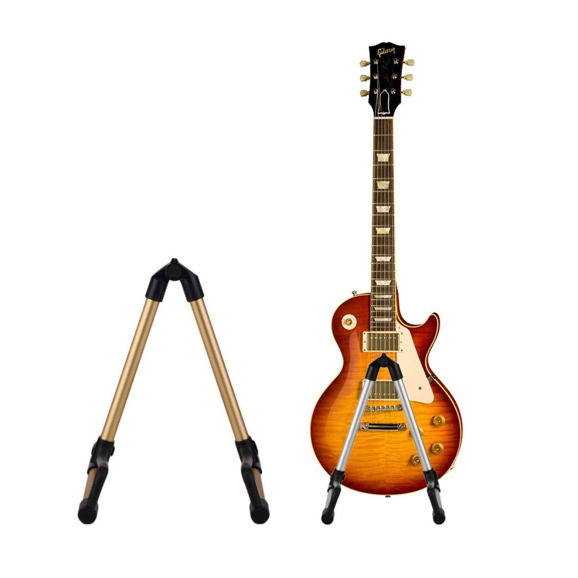 Heaviesk SK20 Alloy Gitarrenst/änder Universal Klappbar F/ür Akustische E-Gitarren Gitarrenst/änder Halter Ausgezeichnet