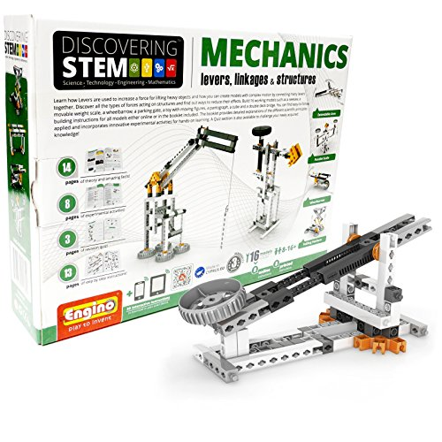 Engino Discovering Stem  Levers  Linkages   Structures Building Kit