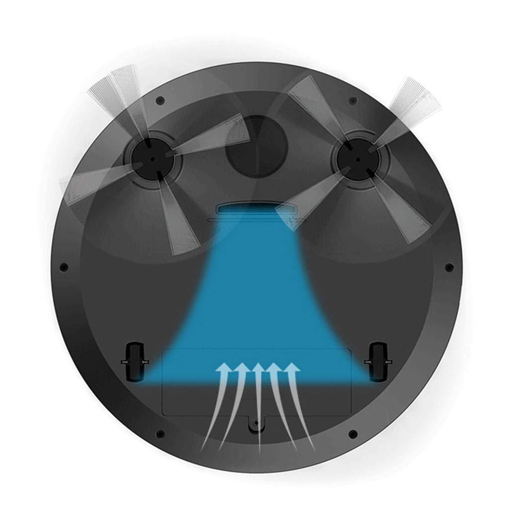 pikins Spazzatrice Scopa aspirapolvere USB Robot Intelligente per Uso Domestico Multifunzione Aspirapolvere Robot