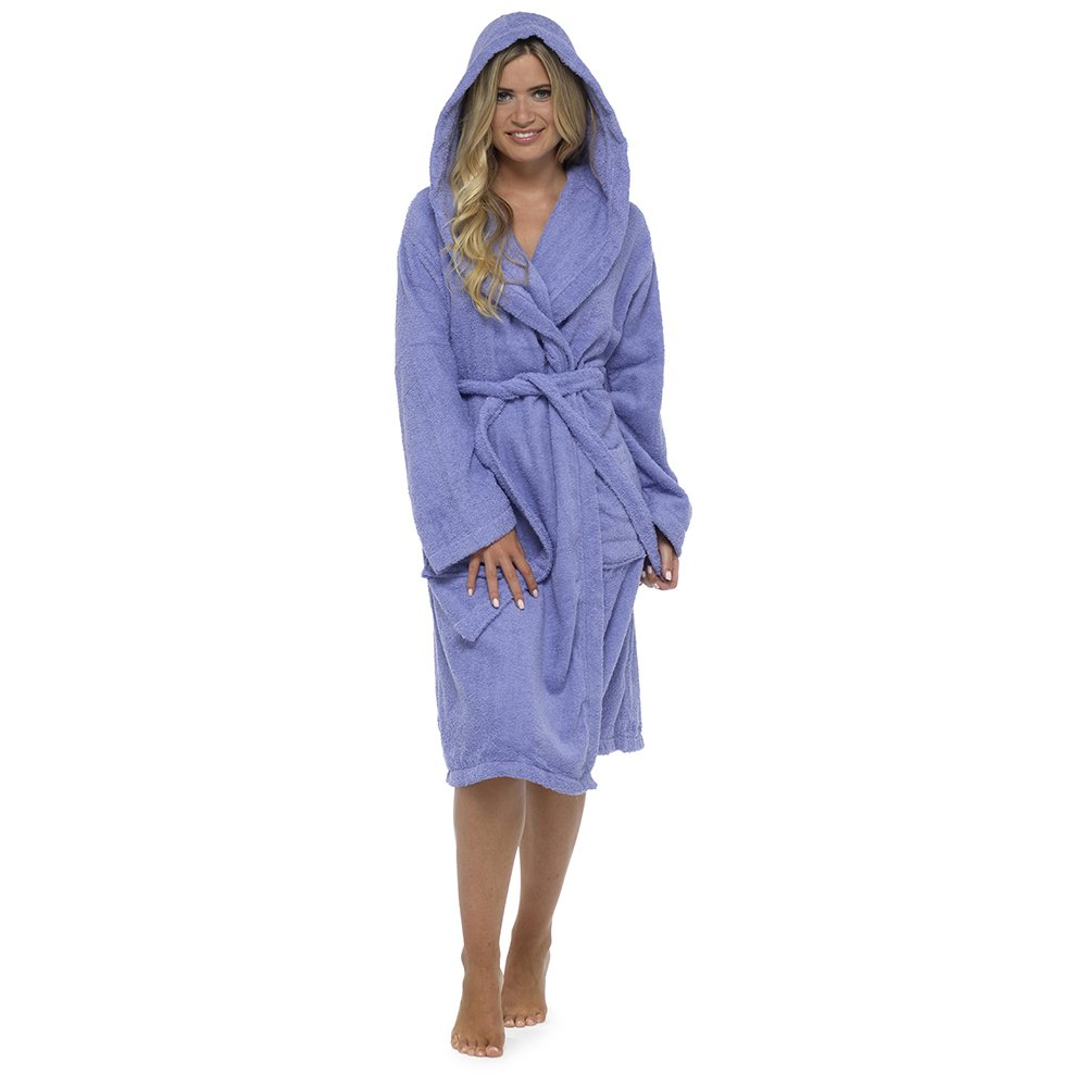 Best Deals Direct Insignia Ladies Terry Towelling Dressing Gown