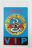 1992 Metallica Laminated Backstage Pass V.I.P Foil