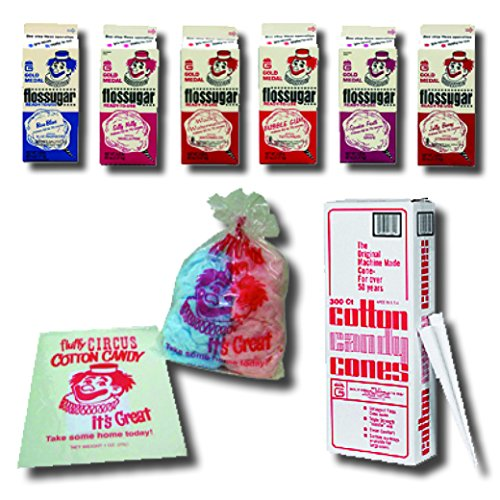 Super Deluxe Cotton Candy Floss Party Kit