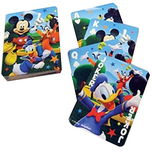 Mickey Mouse Playing Cards by Amscan