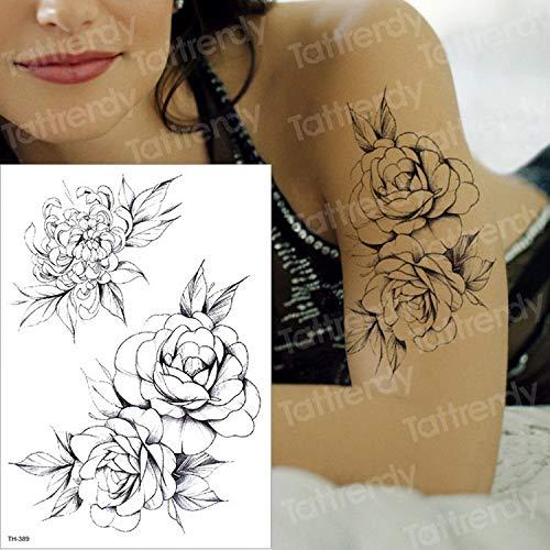 Handaxian 3pcsTatuaje de alas de ángel Tatuaje Pegatina boceto ...