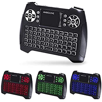 Amazon com: Meerveil H9 2 4GHz Colorful Backlit Mini