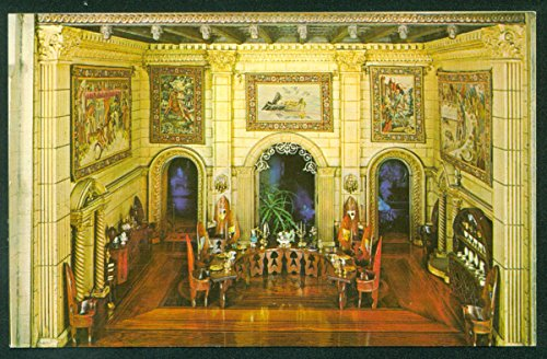 Colleen Moore Fairy Castle Miniature Round Table King Arthur Museum Chicago Postcard