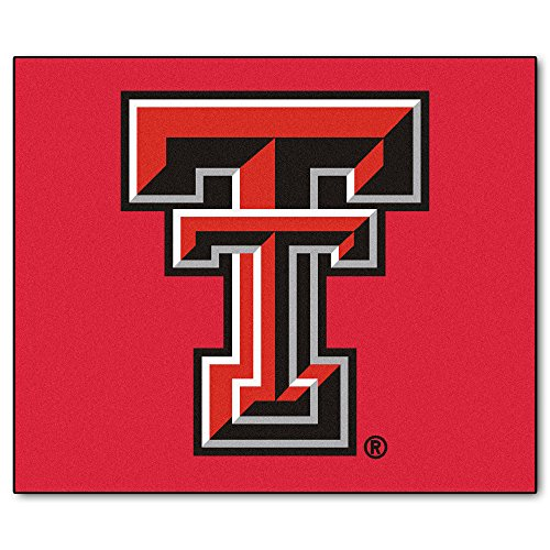NCAA Texas Tech University Red Raiders Tailgater Mat Rectangular Outdoor Area Rug ()