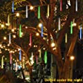 coersd Outdoor String Lights, Party LED Lights Meteor Shower Rain Snowfall Xmas Tree Garden Outdoor