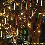 coersd Outdoor String Lights, Party LED Lights Meteor Shower Rain Snowfall Xmas Tree Garden Outdoor (Multicolor)