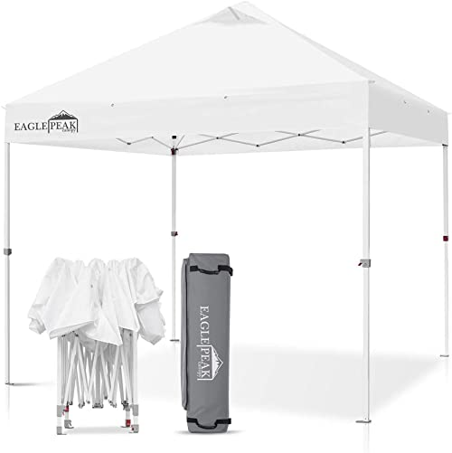 EAGLE PEAK 10 x 10 Commercial Canopy Tent Pop Up Instant Canopy Shelter