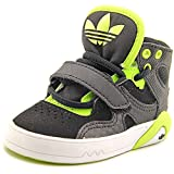 Adidas Roundhouse Mid I Toddler US 4 Black Basketball Shoe