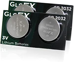 Thermometer Battery CR2032 – 4 Pack - Long Life 3V Coin Button Cell Battery for Thermometers