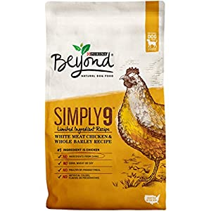 Purina Beyond Simply 9 White Meat Chicken & Whole Barley Recipe Adult Dry Dog Food - 3.7 lb. Bag