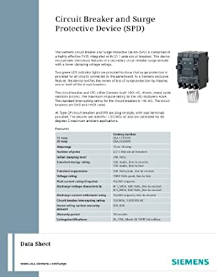 Siemens Whole House Surge Protection