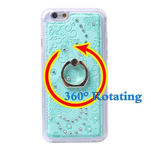 """iPhone 6 / 6S ( 4.7"""" ) Hülle, Apple iPhone 6 / 6S ( 4.7"""" ) Hülle Lifetrust®[ Weiß ] Schutzhülle Flip PU Ledertasche Ständer Schutzhülle Tasche Hülle Case Cover mit Kreditkartensteckplätze für Apple iP"""