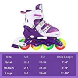 JIFAR Youth Children's Inline Skates for