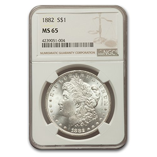 1882 Morgan Dollar MS-65 NGC $1 MS-65 NGC