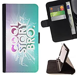 DEVIL CASE - FOR LG G3 - Cool Story Quote Slogan Bling Bright Quote - Style PU Leather Case Wallet Flip Stand Flap Closure Cover