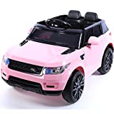 Mini HSE Range Rover Style 12v Child's Ride on Jeep - Pink