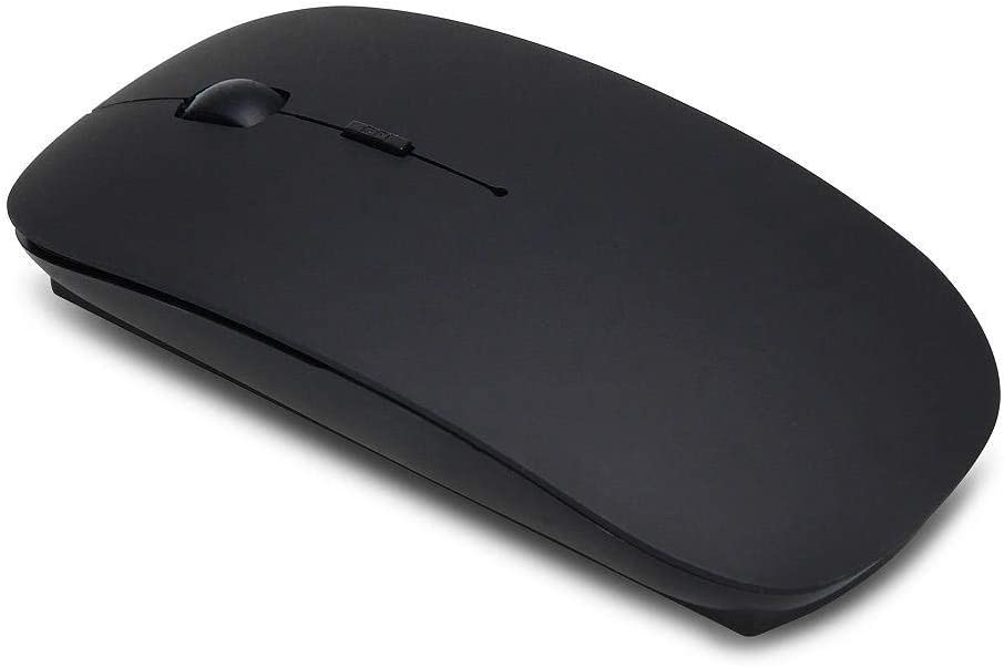 Value-5-Star Bluetooth Wireless Optical Mouse 2.4GHz 6 Keys for Apple Mac Laptop Black