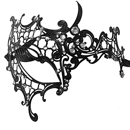 [Sexy Lace Masquerade Eye Mask Ball Halloween Party Fancy Dress Costume] (Halloween Costumes 03)