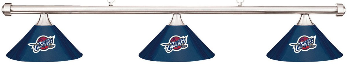 Imperial NBA Cleveland Cavaliersブルーメタルシェード&クロムバービリヤードプールテーブルライト B01LXOQ657