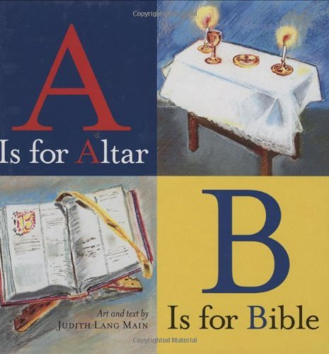 By Judith Lang Main A Is for Altar, B Is for Bible [Hardcover] (A Is For Altar B Is For Bible)