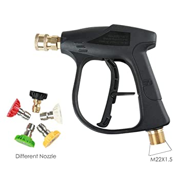 Lavadora de alta presión Pistolas de agua a presión Lavadora de ...
