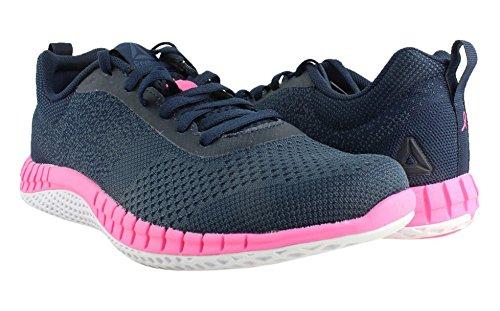 Reebok Women's RBK Print Run Prime Ultk Sneaker, Avon-Coll Navy/Small Indigo, 9.5 M US by Reebok (Image #2)