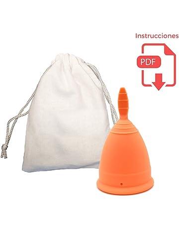 Copa Menstrual Clásica - Certificada por la FDA - Bolsa de algodón de regalo - Alternativa