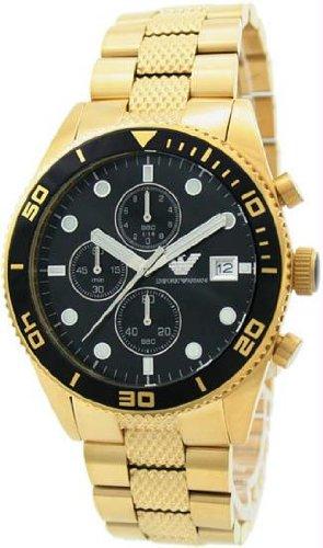 orologio armani dorato